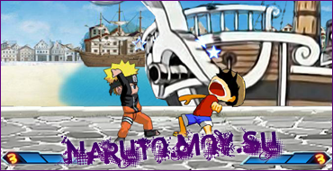 Флеш Игра Наруто - Bleach/Naruto/One Piece Fighting