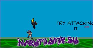 Флеш Игра Наруто - Deidara Platform Game
