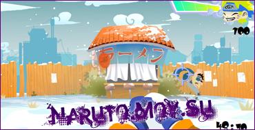 Флеш Игра Наруто - Снежки Наруто